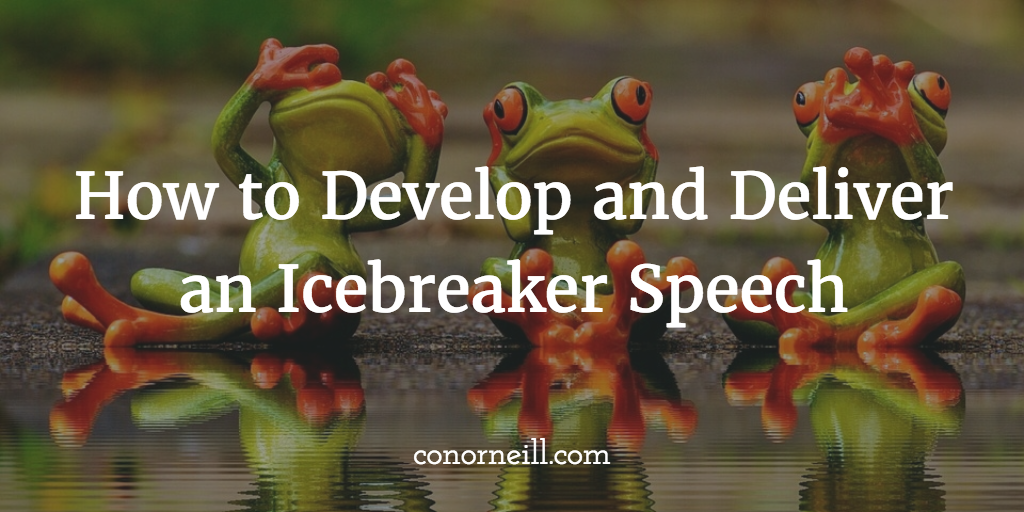 Three Examples of Ice-Breaker Speeches – Moving People to ...