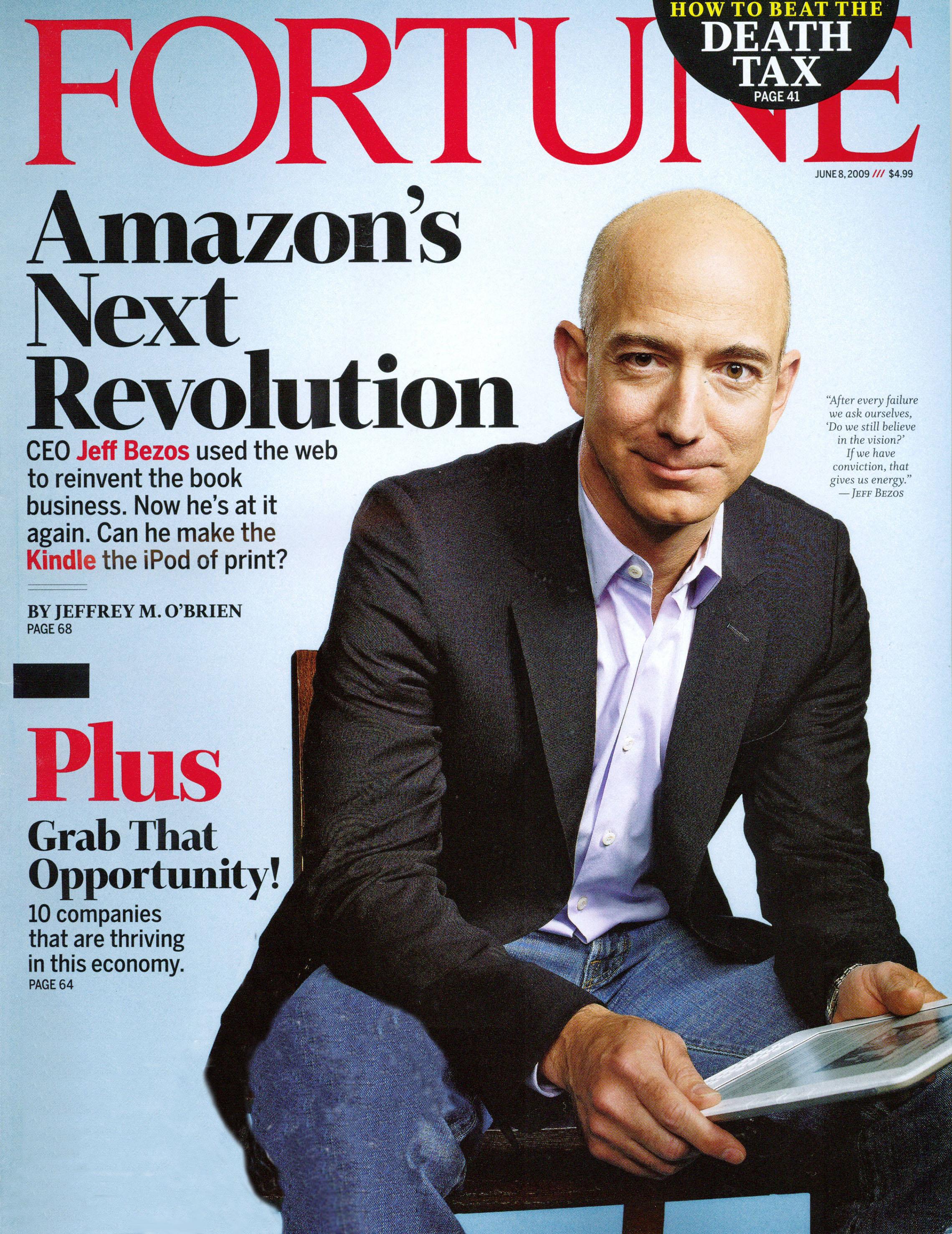 Jeff Bezos, Amazon.com - Research Paper Example