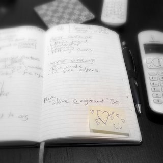 My own notebook right now