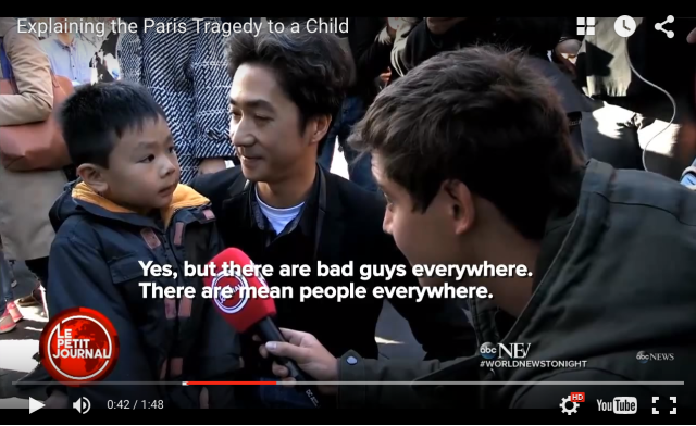 Explaining the Paris Tragedy to a Child