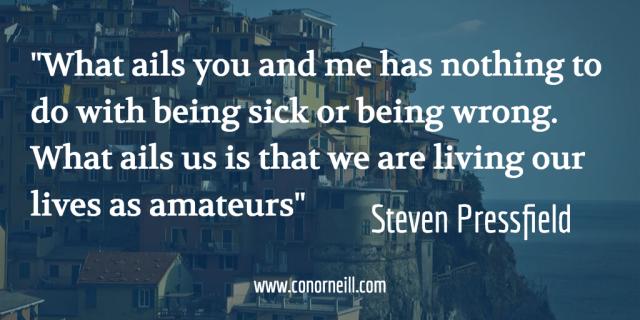 The Lunchpail Manifesto (StevenPressfield)